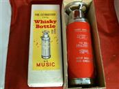 FIRE EXTINGUISHER TYPE whisky BOTTLE with music